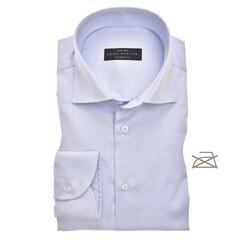 John Miller Tailored Uni Non Iron Overhemd Licht Blauw