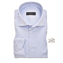 John Miller Tailored Uni Non Iron Shirt Light Blue