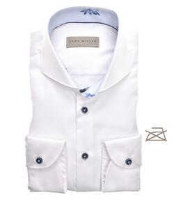 John Miller Uni Non Iron Cutaway Overhemd Wit
