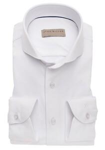 John Miller Uni Slim Stretch Shirt White