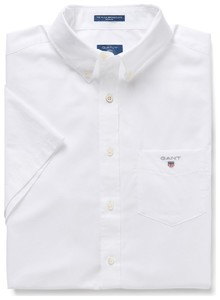 Gant The Broadcloth Short Sleeve Wit