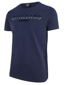 Cavallaro Napoli Terra R-Neck Navy
