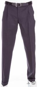 MENS Paris Pleated Pants Anthracite Grey
