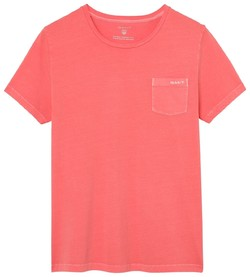 Gant Sunbleached T-Shirt Strong Coral