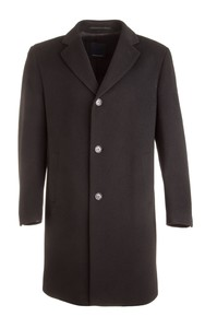 EDUARD DRESSLER Wool-Cashmere Coat Zwart