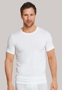Schiesser Long Life Soft Shirt Ronde Hals Wit