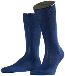 Falke No. 9 Socks Egyptian Karnak Cotton Royal Blue