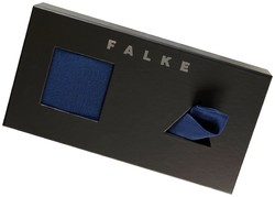 Falke Giftbox Airport met Pochet Royal Blue