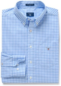 Gant The Broadcloth Gingham Capri Blue