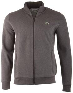 Lacoste Cotton Sports Waistcoat Cardigan Grey