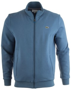 Lacoste Cotton Sports Waistcoat Vest Midden Blauw