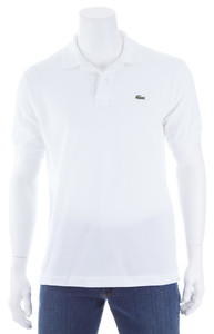 Lacoste Crocodile Caiman Polo Wit