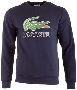 Lacoste Crocodile Logo Sweater Pullover Navy