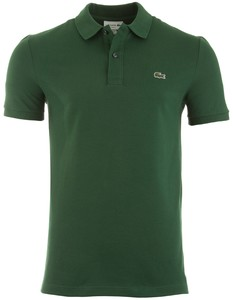 Lacoste Slim-Fit Piqué Polo Polo Groen