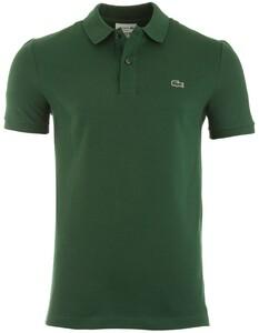 Lacoste Slim-Fit Piqué Polo Poloshirt Green
