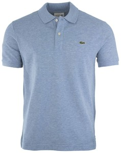 Lacoste Slim-Fit Piqué Polo Poloshirt Light Blue