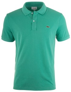 Lacoste Slim-Fit Piqué Polo Poloshirt Mint