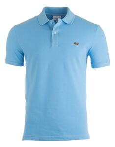 Lacoste Slim-Fit Piqué Polo Poloshirt Ocean Blue