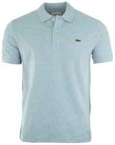Lacoste Slim-Fit Piqué Polo Poloshirt Sky Blue