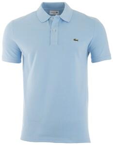 Lacoste Slim-Fit Piqué Polo Poloshirt Sky