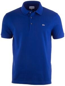 Lacoste Stretch Slim-Fit Mini Piqué Poloshirt Captain