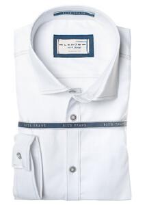 Ledûb Crane Cool Plain Shirt White