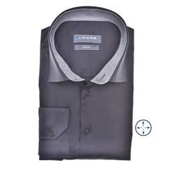 Ledûb Long Sleeve Faux Contrast Modern Fit Shirt Navy