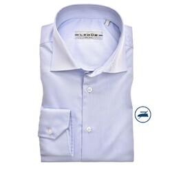 Ledûb Long Sleeve Non Iron Slim Fit Overhemd Licht Blauw