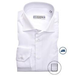 Ledûb Longer Sleeve Modern Fit Overhemd Wit