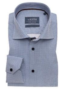 Ledûb Multi Dot Sleeve 7 Shirt Navy