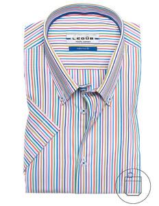 Ledûb Multicolor Summer Stripe Shirt Multicolor
