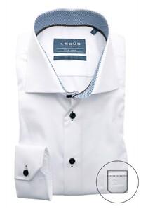Ledûb Uni Multi Dotted Contrast Shirt White