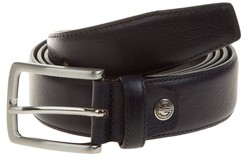 Lindenmann Basic Plain Belt Riem Blauw