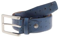 Lindenmann Camel-Bird Design Belt Blue