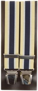Lindenmann Contrasted Stripe Bretels Geel