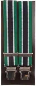 Lindenmann Contrasted Stripe Bretels Groen