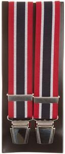 Lindenmann Contrasted Stripe Bretels Rood