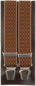 Lindenmann Crosslink Pattern Bretels Cognac
