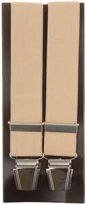Lindenmann Plain Suspenders Suspenders Dark Beige