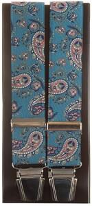 Lindenmann Royal Paisley Bretels Blauw