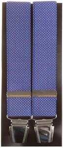 Lindenmann Small Dots Bretels Blauw-Roze