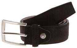 Lindenmann Wide Suede Belt Belt Black
