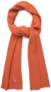 Gant Wool Knit Scarf Burnt Ochre