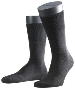 Falke Airport Plus Socks Antraciet