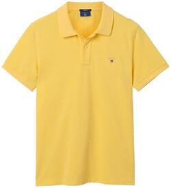 Gant Gant Piqué Polo Light Yellow Melange