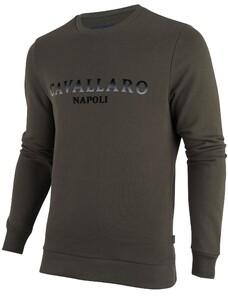 Cavallaro Napoli Mirko Sweat Donker Groen
