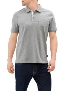 Maerz Uni Polo Short Sleeve Mercury Grey