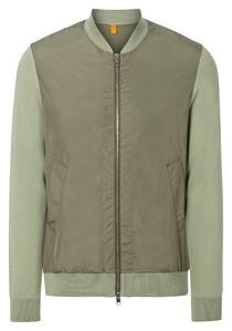 Maerz Bio Cotton College Cardigan Vest Army Olive