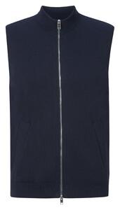 Maerz Bio Cotton Zipper Cardigan Navy
