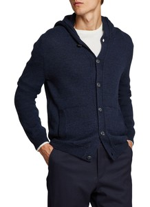 Maerz Button Cardigan Cardigan Navy